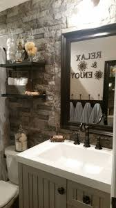 Accent Wall Bathroom 17 Best Ideas About Stone Bathroom On Pinterest Restroom Ideas