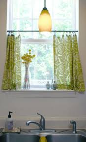 Of Kitchen Curtains Kitchen Cafe Curtains For Kitchen With Contemporary Kitchen