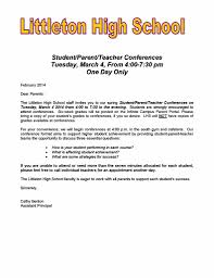 parent teacher conference letter to parents examples cover letter examples for college students cover letter