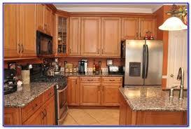 granite countertop colors for oak cabinets painting