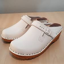 Troentorp White Clogs From Sweden 36 6