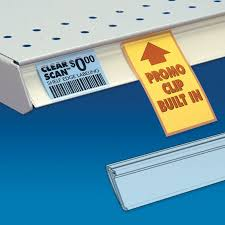 clear scan shelf edge label strips view larger