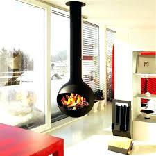 free standing ventless propane fireplace free standing
