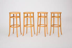 Thonet Bar Stool Luxury Set Of Four Bentwood Stools U2013 Den Mbler Thonet Bar Stool L82