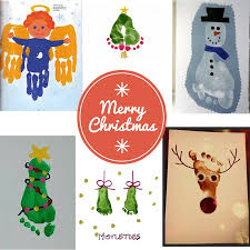 Christmas Card Crafts For Kids  Before There Was PinterestChristmas Card Craft Ideas