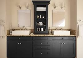 semi custom bathroom cabinets. Society Shaker Black (Semi-Custom) - The RTA Store Semi Custom Bathroom Cabinets B