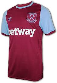 Great selection of west ham utd shirts and kit featuring vintage home, away, training, player issue plus lots of great clearance deals on the hammers current and vintage ranges. Amazon Com Umbro 2020 2021 West Ham Home Football Soccer T Shirt Jersey Clothing