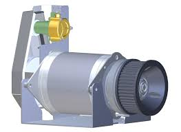 new at fischer panda the parallel hybrid drive motor running at low sds