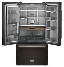 Kitchen Aid French Door Kitchenaid Stainless French Door Refrigerator Krfc704fbs
