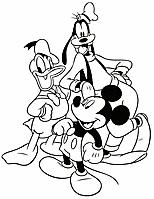 Mickey Mouse Kleurplaten