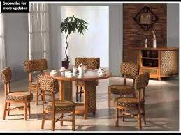 indoor wicker dining chairs collection of dining room furniture sets