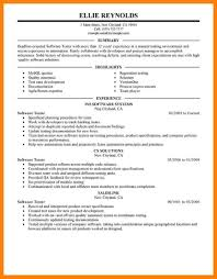 Sample Resume For Manual Testing 60 Excite Sample Resume Of Manual Tester Photo Qtyfjtd Bailbonds LA 44