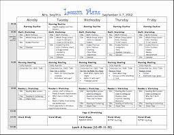 Kindergarten Lesson Plan Template Awesome 8 Weekly Lesson