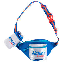 Pack Of Natty Light Natural Light Fanny Pack With Beer Holster