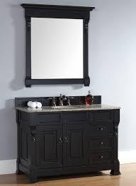 black vanities for bathrooms. James Martin Brookfield Collection 48\ Black Vanities For Bathrooms