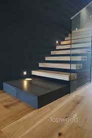 Topwood also offer a Floating Staircase option. Here you can see our Oak  (White wash Floating staircase design. The brushed surface oak grain offers  true ...