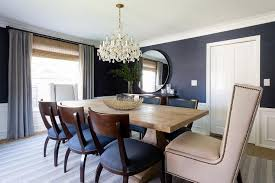 blue dining room. Perfect Dining Blue Dining Room With Wood Klismos Chairs In N