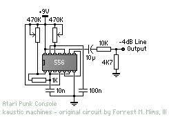 schematics getlofi circuit bending synth diy page 3 atari punk console beep schematic 556