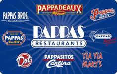 pappas restaurants gift card balance