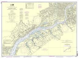 Noaa Nautical Chart 12312 Delaware River Wilmington To Philadelphia