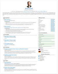 Free Resume Builder Professional Online Cv Builder Rabbitcv