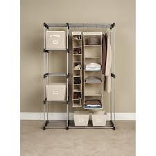 Portable Closet Rod Decor Best Ideas Using Closet Organizers Walmart For Your Home
