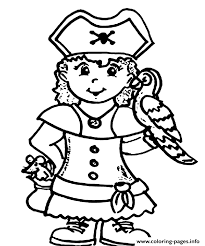 Small Picture a pirate girl e14493874418473780 Coloring pages Printable