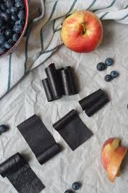 easy oven dried blueberry fruit leather recipe