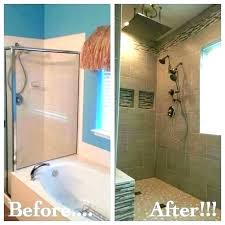 bathtub shower insert walk in garden tub and removed to make room for inserts replacement kits batht