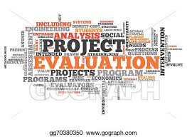 Stock Illustration - Word Cloud Project Evaluation. Clipart ...