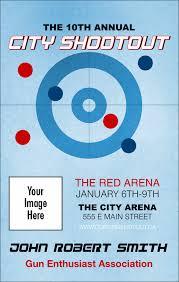 Event Badge Template Curling Vip Event Badge Medium