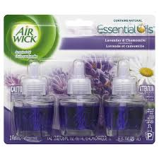 Airwick 3-Pack Lavender Chamomile Plug-in Electric Air Freshener Refill
