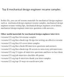 sample resume for mechanical design engineer download medical design  engineer sample resume sample resume for mechanical