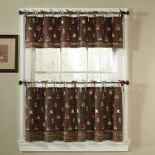 Kitchen Curtains Coffee Theme Coffee Themed Kitchen Decor House And Garden Decorating Ideas