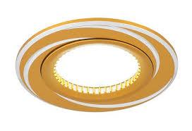 Точечный <b>светильник Gauss</b> Aluminium золото/хром Gu5.3 <b>AL015</b> ...