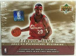 Lebron james rookie cards are some of the most beloved of the modern era. Lebron James 2003 04 Phenomenal Beginning Card Set Of 13 Cards Upper Deck For Sale Online Ebay
