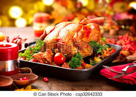 thanksgiving turkey dinner table. Wonderful Dinner Thanksgiving Dinner Table Served With Turkey Decorated Bright Autumn  Leaves  Csp32642333 For Turkey Dinner Table