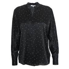 Dotted Tops Designs Dotted Satin Popover
