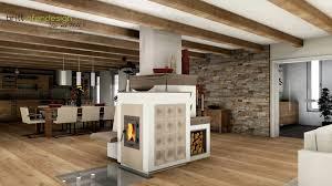 038 Britt Ofendesignfireplacedesign Kachelofen Landhaus Stil Tiled Stove Cottage Style