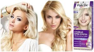 Цвет волос блонд и модные  оттенки