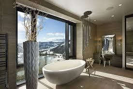 luxury contemporary master bathrooms.  Bathrooms View In Gallery Amazing Bathroom Of Private Luxury Ski Resort By Len  Cotsovolos For Luxury Contemporary Master Bathrooms A