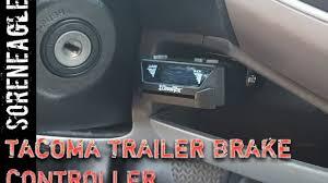 Tacoma 2nd gen trailer brake controller install Towing DIY Toyota ...