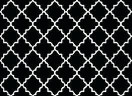 black and white pattern rug contemporary trellis modern geometric black area rugs maple home black