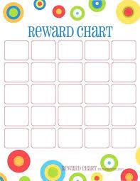 Kids Reward Chart Sticker Template For Behavior Medschools Info