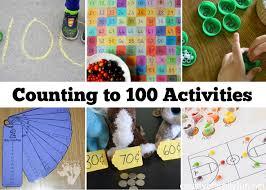 Counting To 100 Activities For Kindergarten Creative