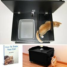 corner cat litter box furniture. Amazon Com Cat Litter Box Furniture Kitty Enclosure Throughout Decor Pertaining To Plans 7 Corner E