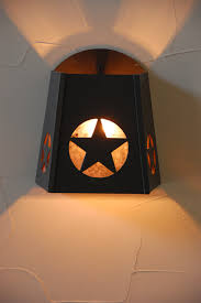 texas star light star light sconce texas sconce