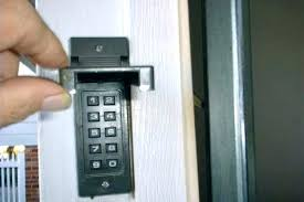 how to change code on garage door keypad er garage door keypad reset large size of
