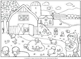 Farm Coloring Pages For Kids Kid Coloring Pictures Kids Pages