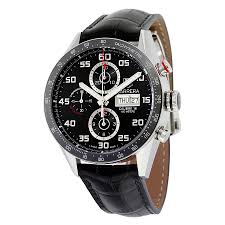 tag heuer carrera black dial automatic chronograph men s watch tag heuer carrera black dial automatic chronograph men s watch cv2a1r